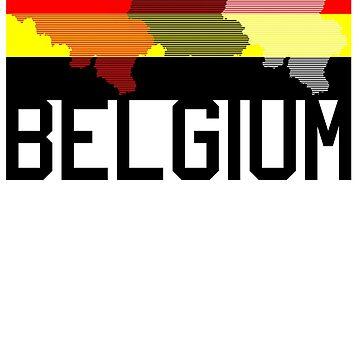 Belgian Flag Design 9     by BOBSMITHHHHH