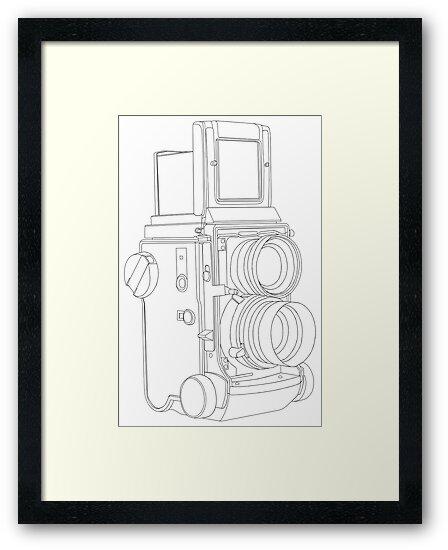 TLR Camera by Richard Heyes