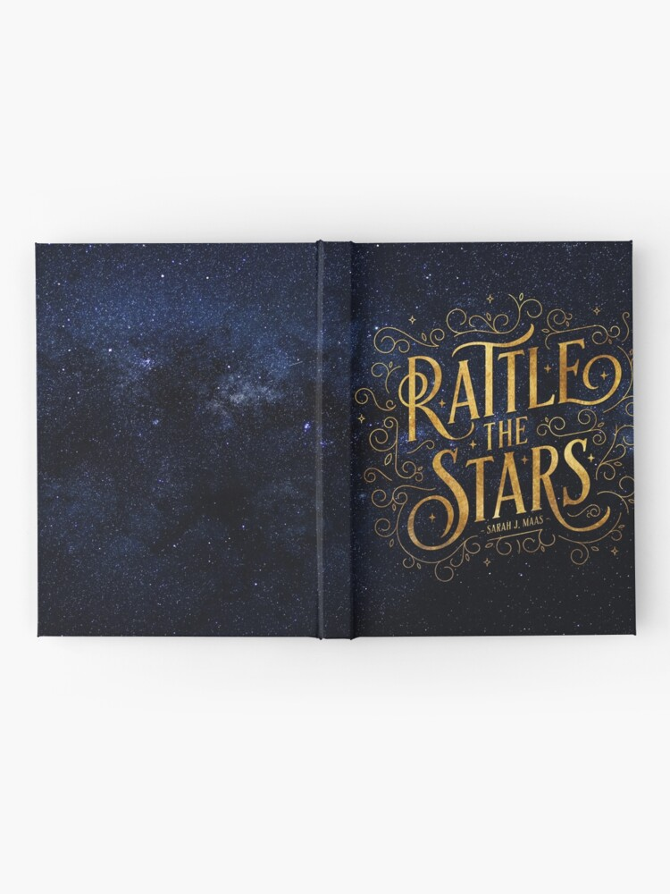 Alternative Ansicht von Rattle the Stars - Nacht Notizbuch