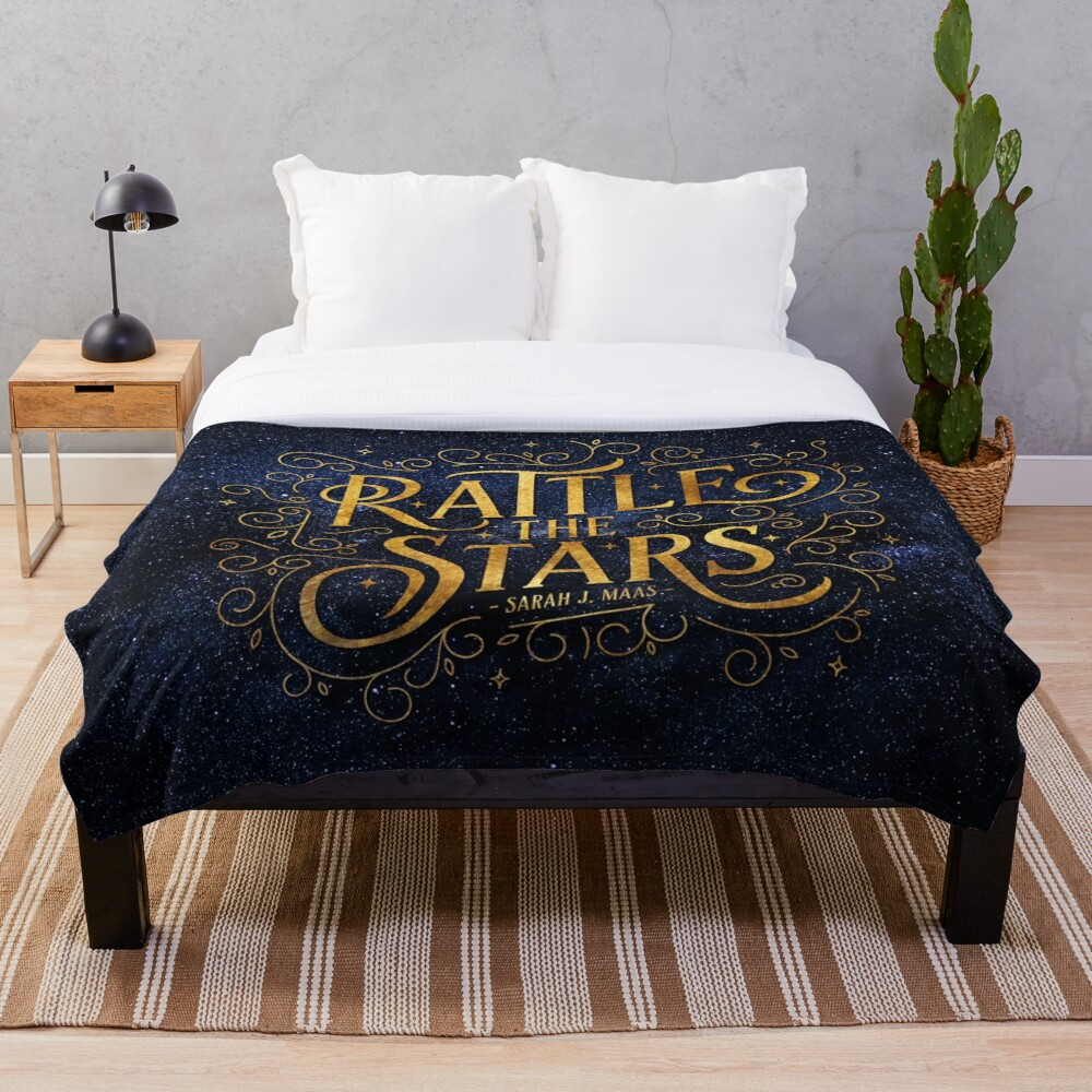Rattle the Stars - Night Throw Blanket
