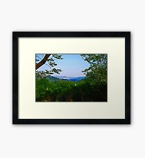 Magaliesburg At Dawn Framed Print