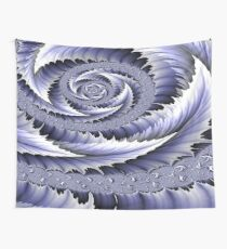 Spiral Leaf Abstract Wall Tapestry