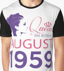 It's My Birthday 59. Made In August 1959. 1959 Gift Ideas. Graphic T-Shirt