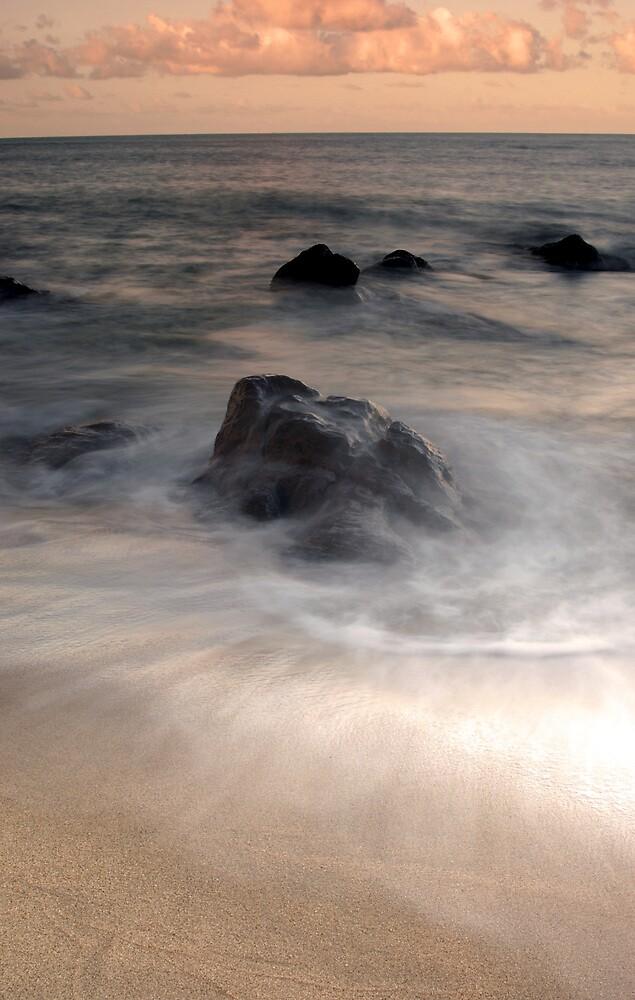 Swirls - Sunset at Ella Bay by Jenny Dean
