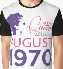 It's My Birthday 48. Made In August 1970. 1970 Gift Ideas. Graphic T-Shirt
