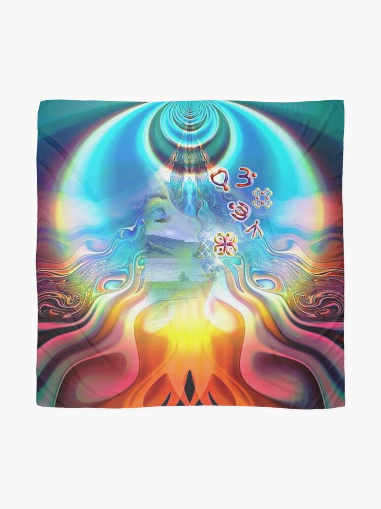 Alternative Ansicht von Seelenenergie-Kanäle Tuch