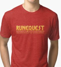 RuneQuest: Roleplaying in Glorantha Logo Tri-blend T-Shirt