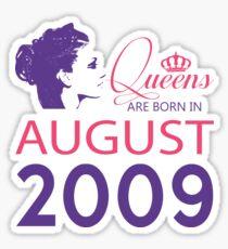 It's My Birthday 9. Made In August 2009. 2009 Gift Ideas. Sticker