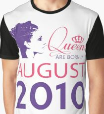 It's My Birthday 8. Made In August 2010. 2010 Gift Ideas. Graphic T-Shirt