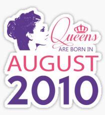 It's My Birthday 8. Made In August 2010. 2010 Gift Ideas. Sticker