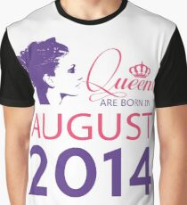 It's My Birthday 4. Made In August 2014. 2014 Gift Ideas. Graphic T-Shirt