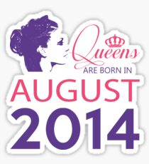 It's My Birthday 4. Made In August 2014. 2014 Gift Ideas. Sticker