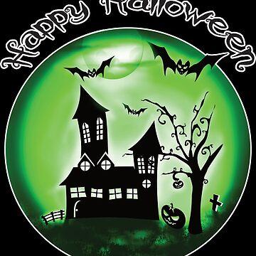Happy Halloween by AK1Shirts