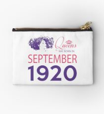 It's My Birthday 98. Made In September 1920. 1920 Gift Ideas. Studio Pouch