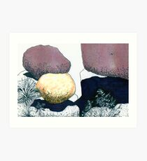 Boulders Composed Artistically Art Print
