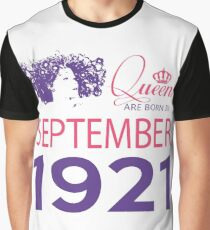 It's My Birthday 97. Made In September 1921. 1921 Gift Ideas. Graphic T-Shirt