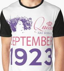 It's My Birthday 95. Made In September 1923. 1923 Gift Ideas. Graphic T-Shirt
