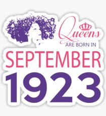 It's My Birthday 95. Made In September 1923. 1923 Gift Ideas. Sticker