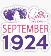 It's My Birthday 94. Made In September 1924. 1924 Gift Ideas. Sticker