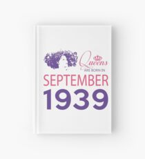 It's My Birthday 79. Made In September 1939. 1939 Gift Ideas. Hardcover Journal