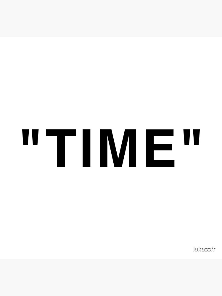 """""""Time"""" Quotation Marks by lukassfr"""