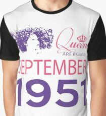 It's My Birthday 67. Made In September 1951. 1951 Gift Ideas. Graphic T-Shirt