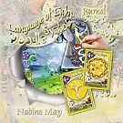 The Language of Light Doodle Symbols on the Solar Plexus by NadineMay