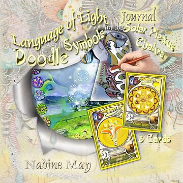 The Language of Light Doodle Symbols on the Solar Plexus by NadineMay