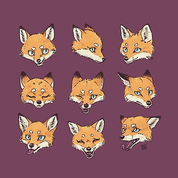 Camo Fox Pattern by freeminds