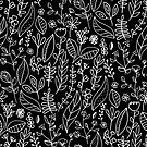 Licorice Nature Doodle  by TigaTiga