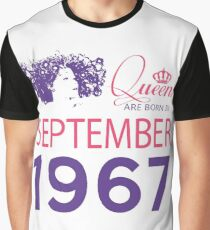 It's My Birthday 51. Made In September 1967. 1967 Gift Ideas. Graphic T-Shirt