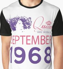 It's My Birthday 50. Made In September 1968. 1968 Gift Ideas. Graphic T-Shirt
