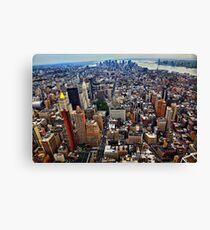Manhattan Island Canvas Print