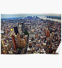 Manhattan Island Poster