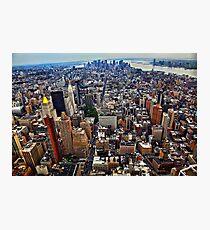 Manhattan Island Photographic Print