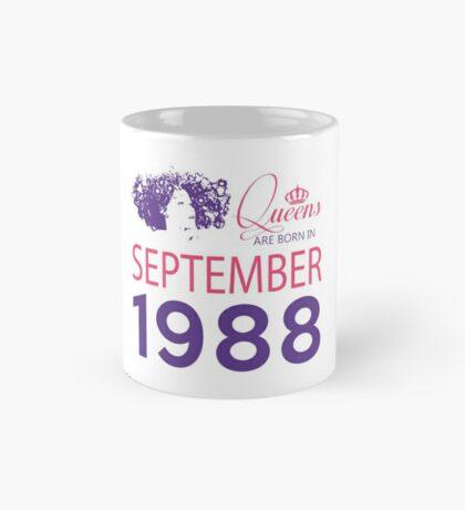 It's My Birthday 30. Made In September 1988. 1988 Gift Ideas. Mug