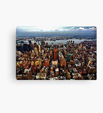 Manhattan and Brooklyn Canvas Print