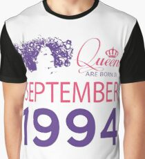 It's My Birthday 24. Made In September 1994. 1994 Gift Ideas. Graphic T-Shirt