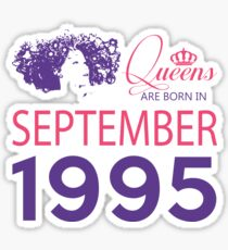 It's My Birthday 23. Made In September 1995. 1995 Gift Ideas. Sticker