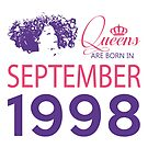 It's My Birthday 20. Made In September 1998. 1998 Gift Ideas. by wantneedlove