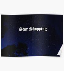 Sterne einkaufen Poster