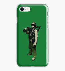 Peace through superior firepower by #fftw iPhone Case/Skin