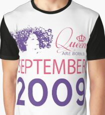It's My Birthday 9. Made In September 2009. 2009 Gift Ideas. Graphic T-Shirt