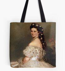 Bolsa de tela Emperatriz Elisabeth de Austria en traje de baile-Franz Xaver Winterhalter