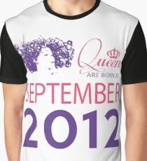 It's My Birthday 6. Made In September 2012. 2012 Gift Ideas. Graphic T-Shirt