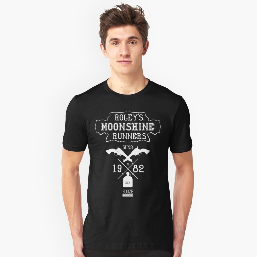 Roley's Moonshine Runners Unisex T-Shirt Front