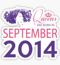 It's My Birthday 4. Made In September 2014. 2014 Gift Ideas. Sticker