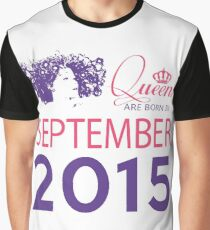 It's My Birthday 3. Made In September 2015. 2015 Gift Ideas. Graphic T-Shirt