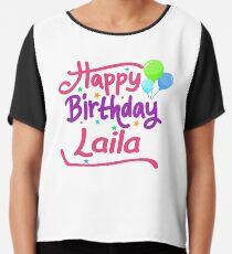 Happy Birthday Laila Chiffon Top