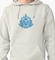 Zodiac Sign Aquarius Blue Pullover Hoodie